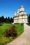 argeskloster romania Royaltyfri Foto