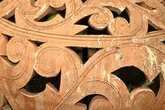 Argila cerâmica do produto de cerâmica do fundo, cerâmica feita da argila ateada fogo a um estado poroso que possa ser feito impe imagem de stock