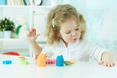 Argila colorida Imagens de Stock