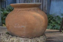 Argila cozida coruja do bebê Imagem de Stock Royalty Free