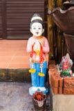 Argila Tailândia da menina Imagens de Stock Royalty Free