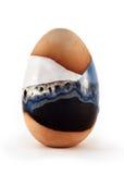 Argile d'oeufs en céramique Images libres de droits
