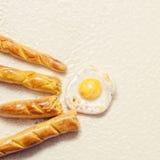 Argile miniature de nourriture images stock