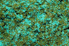 Argilla colorata sabbiosa Macro Fotografia Stock