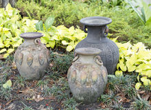 Argilla conservata in vaso fotografie stock
