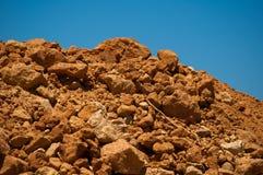 Argilla del monticello Fotografia Stock