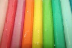 Argilla del Rainbow Immagine Stock Libera da Diritti