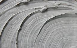 Argilla della maschera del fango con i minerali del mar Morto Struttura Fuoco selettivo fotografia stock libera da diritti