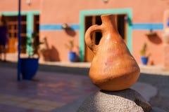Argilla di vaso marocchina Fotografia Stock