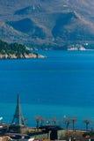 Argine in Budua, Montenegro Fucilazione con la configurazione più alta Immagini Stock Libere da Diritti