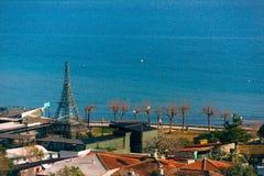 Argine in Budua, Montenegro Fucilazione con la configurazione più alta Fotografia Stock
