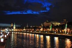 Argine del Kremlin ed argine di Sofia. Fotografia Stock Libera da Diritti
