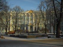 Argine di Neva Proprietà di Kuskovo fotografie stock