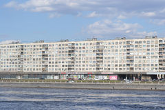 Argine di ottobre a St Petersburg Immagini Stock