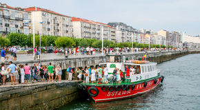 Argine 2 di Santander Fotografia Stock