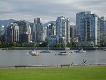 Argini falsi dell'insenatura di Vancouver Immagini Stock