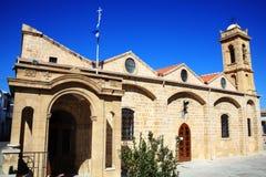 Argios Savvas教会,尼科西亚,塞浦路斯 免版税图库摄影
