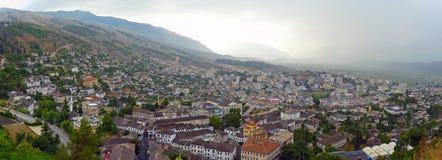 Argirocastro - l'Albania Fotografia Stock Libera da Diritti