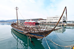 argo复制史前船 免版税库存照片