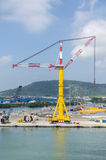 Сargo crane Royalty Free Stock Photos