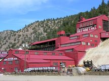 Argo Gold Mine & Mill Royalty Free Stock Image