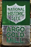 The Argo Gold Mine and Mill in Colorado Stock Images