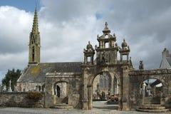 Argol church - Brittany Stock Image