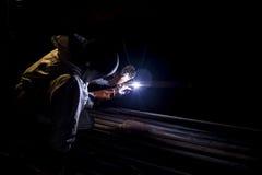 Argon welder Royalty Free Stock Images