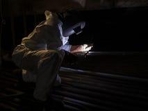 Argon welder Royalty Free Stock Photo