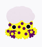 Argonaut with dots. An octopus argonaut with dots Stock Image