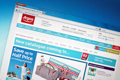 Argos.com Royalty Free Stock Images