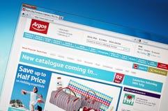 Argos.com Royalty Free Stock Images