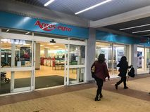 Argos extra store. Argos Ltd, trading as Argos, is a British catalogue retailer operating in the United Kingdom and Ireland, and a subsidiary of Sainsbury`s. The stock image