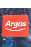 Argos firmy logo Fotografia Royalty Free