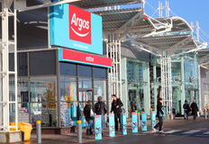 Argos shop, Kempston, Beds, UK. An Argos shop in Kempston, Bedfordshire, UK. Argos is a catalogue merchant based in the United Kingdom and Ireland. With about Stock Photo