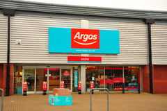 Argos Store front. Photograph showing the front of an Argos store Royalty Free Stock Photography