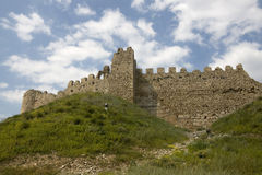 Argos - Views of the fortress, Greece. The castle lies on the prominent hill called Larissa, overlooking the town of Argos - Peloponnese Stock Images
