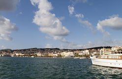 Argostoli city of Kefalonia, Greece Stock Image