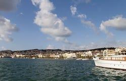 Argostoli city of Kefalonia, Greece Stock Image