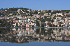 Argostoli city at Kefalonia, Greece Royalty Free Stock Image