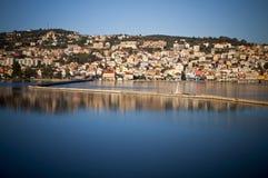 Argostoli city at Kefalonia island Stock Image