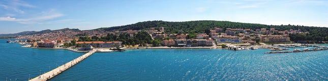 Argostoli in the Greek Island of Cephalonia Royalty Free Stock Photography