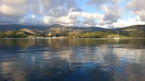 Argostoli Kefalonia, Grekland Royaltyfria Bilder