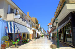 Argostoli town main street Stock Images