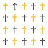 Argt symbol för klosterbroder vektor illustrationer