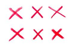 Argt tecken för matematiska operationer Arkivfoton