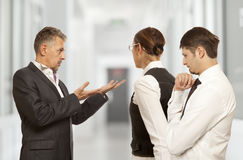 Arguing, conflict, business concept Stock Photography
