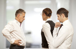 Arguing, conflict, business concept Royalty Free Stock Photo