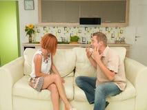 arguing couple Στοκ Φωτογραφίες