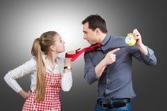 arguing couple Στοκ φωτογραφίες με δικαίωμα ελεύθερης χρήσης